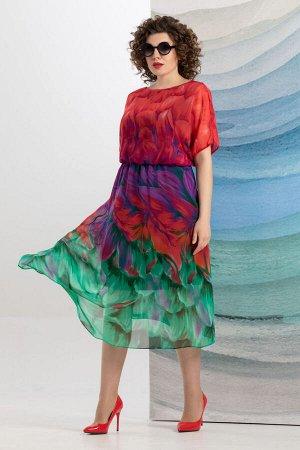 Платье Avanti Erika 1193-1 красный