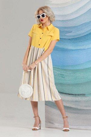 Платье Avanti Erika 1215 желтый