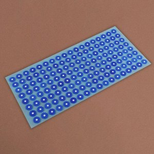 Аппликатор - коврик, 26 ? 56 см, 144 модуля, цвет голубой/синий