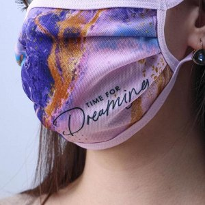 Маска текстильная Dreaming