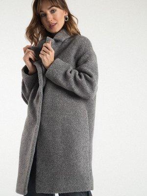 Пальто Состав ткани: Полиэстер 100% Описание модели Как рассветный туман мягко застилает долины, так и наше пальто нежно укутывает в свои объятья. Рыхлая буклированная ткань с фактурными завитками иде