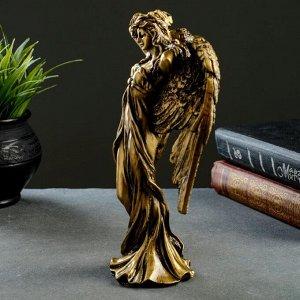 """Фигура """"Ангел"""" золото 7х13х22.5см"""