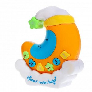 Музыкальная игрушка-ночник «Сладкие сны». световые и звуковые эффекты. цвет МИКС