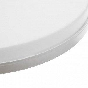 Накладной светодиодный светильник Luazon Lighting. съемный. 300 мм. 48 Вт. 4320 Лм. 6500 К