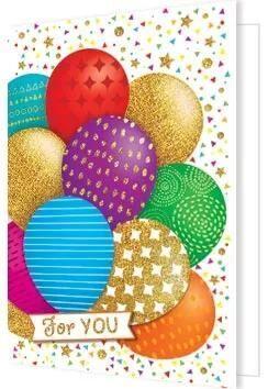 """Мини-открытка (подвеска) """"For you"""""""