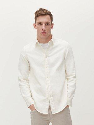 Рубашка с добавлением льна