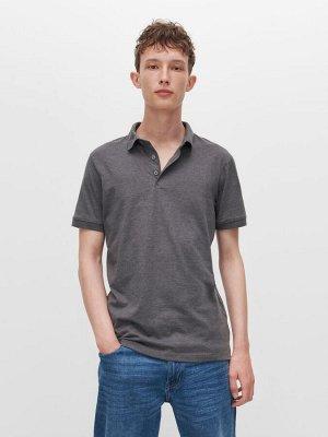 Гладкая рубашка поло