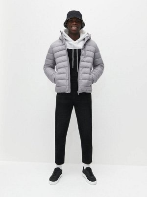 Стеганая куртка с утеплителем