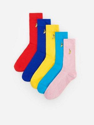 Разноцветные носки, 5 пар