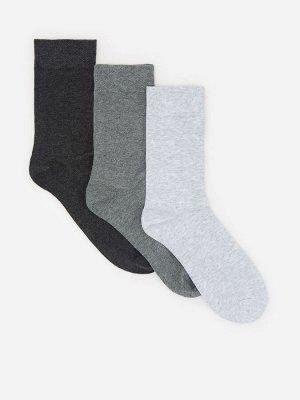 Носки с добавлением органического хлопка, 3 пары