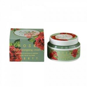 """KR/ JIGOTT Flower Rose Energizing Cream Крем для лица """"Роза"""", 100мл"""