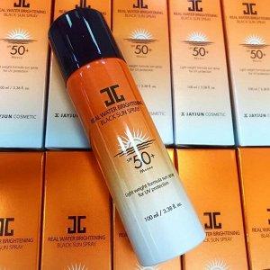 Солнцезащитный спрей JAYJUN Real Water Brightening Black Sun Spray SPF 50+ PA ++++ 100 ml