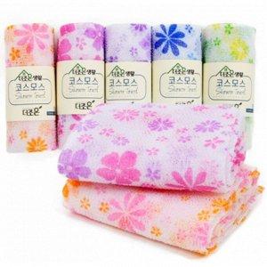 Мочалка-полотенце для душа Цветочек Shower Towel