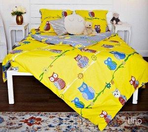 Теплое постельное белье из фланели 1.5 сп -Совы! Ниже сп