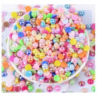 Всяко-разное))  — Бусины, полубусины: стеклянные, акриловые, пластиковые — Бисер и бусины