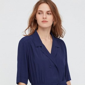 Женское платье,голубой