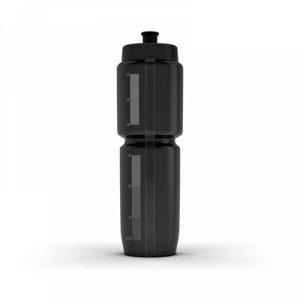 Фляга фляга объёмом 950 мл. Без вкуса и запаха пластика. Удобная прорезиненная насадка для питья. Прозрачная линия показывает оставшийся объём жидкости.