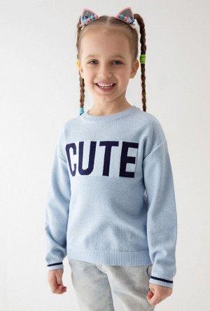 Джемпер детский для девочек Rafaela синий