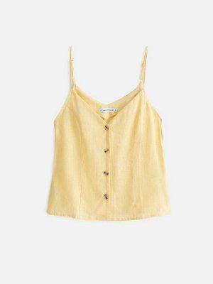 Блузка жен. Leemas желтый