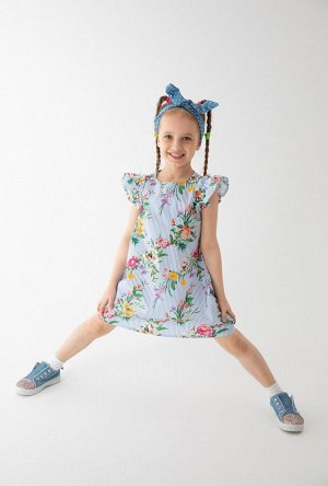 Платье детское для девочек Tibr набивка