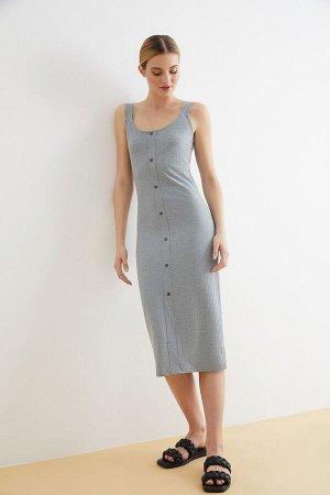 Платье жен. Ashley серый