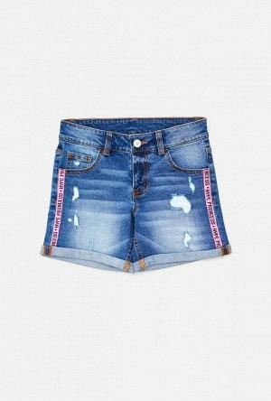 Шорты джинсовые детские для девочек р. 152