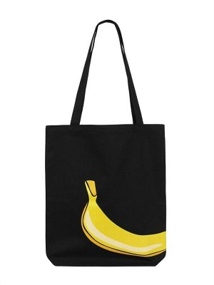 Сумка 231 Описание Удобная экологичная сумка шоппер с изображением банана.  Характеристики: Состав: 100% хлопок Размеры: 40х35 см Производство: Россия