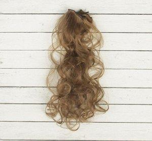 Волосы - тресс для кукол «Кудри» длина волос: 40см, ширина:50см, №18Т