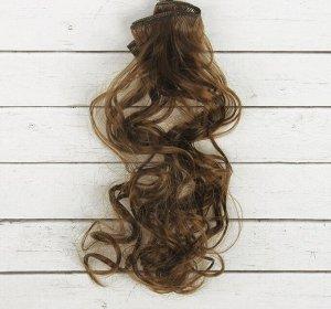 Волосы - тресс для кукол «Кудри» длина волос: 40см, ширина: 50см, №9