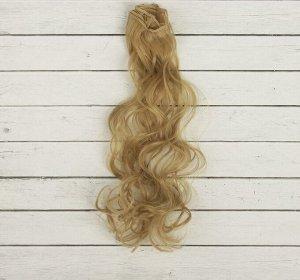 Волосы - тресс для кукол «Кудри» длина волос: 40см, ширина: 50см, № 24