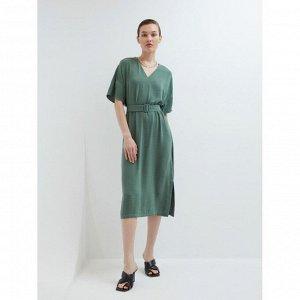Платье женское хаки/оливковый