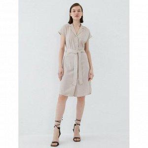 Платье женское бежевый