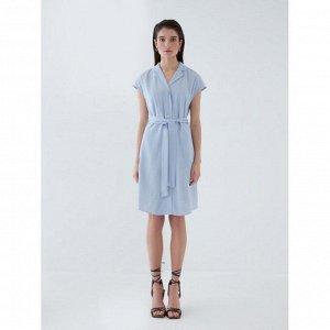 Платье женское небесно-голубой