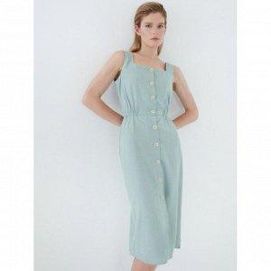 Платье женское мятный