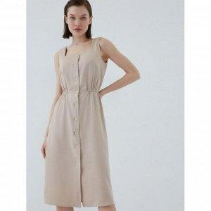 Платье женское кремовый/светлый беж