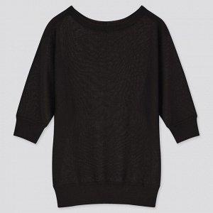 Женский свитер, черный