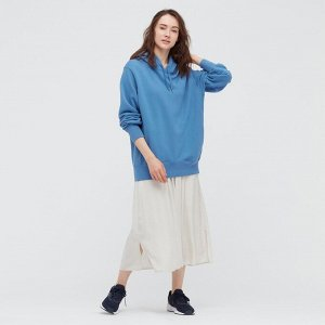 Женская юбка с подкладом, натуральный
