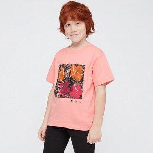 Детская футболка, розовый