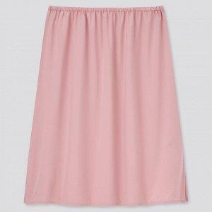 Женская юбка с подкладом, розовый