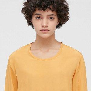 Платье, желтый