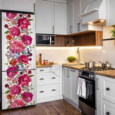 Пленка самоклеящаяся для мебели и декора (11.06.2021) — Цветы