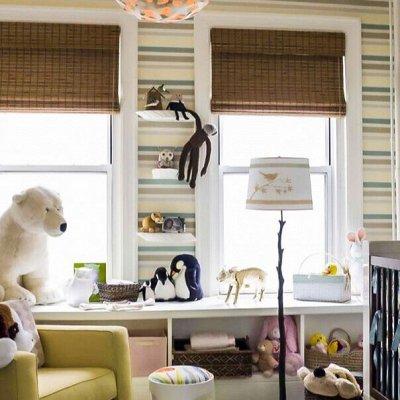 Красивые Шторы для вашего дома. Рулонные, Римские, Жалюзи — Римские шторы ширина 160 см — Жалюзи