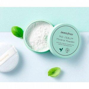 No-Sebum Mineral Powder Матирующая минеральная пудра 5g