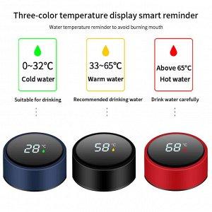 Интеллектуальный термос с термометром из нержавеющей стали !