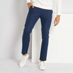 Узкие брюки-чинос - голубой