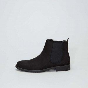 Ботинки в стиле челси - черный