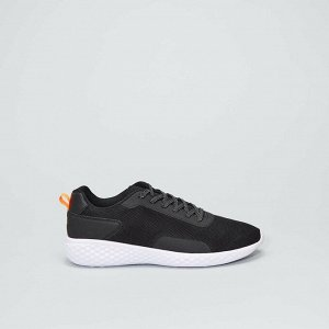 Низкие сетчатые кроссовки - черный