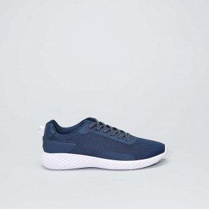 Низкие сетчатые кроссовки - темно-синий