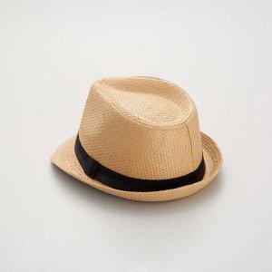 Шляпа борсалино - черный