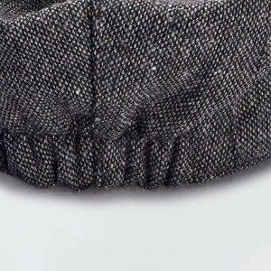 Кепка в стиле 'Гаврош' - серый